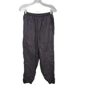 VTG 90s Adidas Black Track Pants Size Small